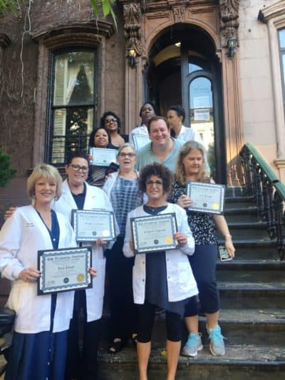 Here are our Trichologist graduates! 100% of our class passed!
