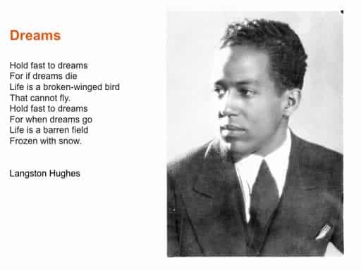 langston-hughes-dream | US Trichology Institute